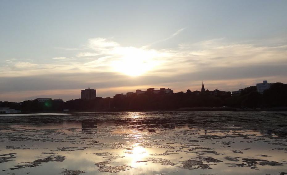 Poole Park – Lake Sunset